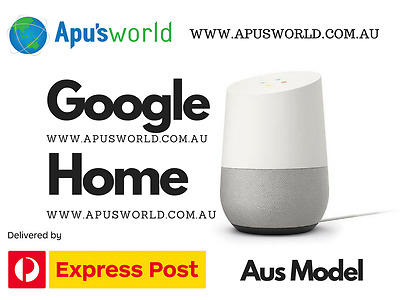 Google Home Smart Speaker Personal Assistant Voice Activated Brand New AUS Model