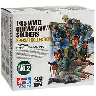 13 TAMIYA kits WWII GERMAN ARMY SOLDIERS Special Collection #2 1/35 Scale 89781