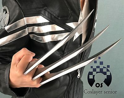 2 pcs/1 pair X-men Wolverine claws Logan paws cosplay props Halloween gift ABS