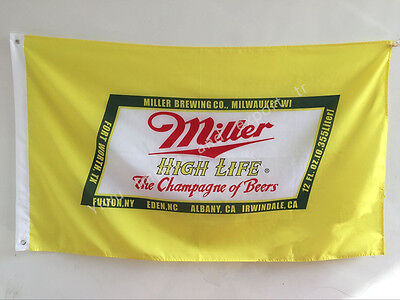 Miller High Life 3x5 Feet Banner Flag