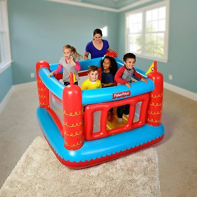 Fisher-Price Bounce Play Center With 50 Play Balls Indoor Outdoor Kids Party