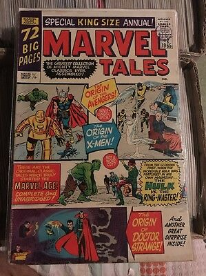 Marvel Tales Issue 2, 3, 4 & 5 1965 Silver Age