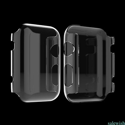 New 1pcs cystal Full Case Cover  Protector For Apple Watch iWatch series 2 42mm