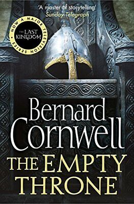 The Empty Throne The Last Kingdom Series by Bernard Cornwell New Paperback Book