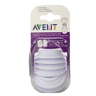 Philips Avent Sealing Discs Six Pack 1 2 3 6 12 Packs
