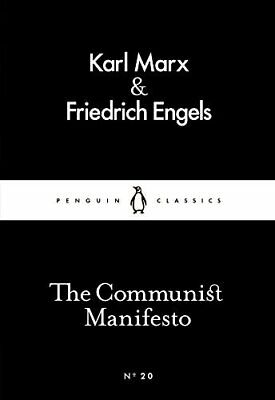 The Communist Manifesto Penguin Lit by Karl Marx New Mass Market Paperback Book