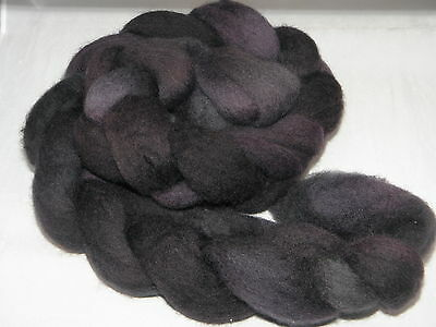 Hand Dyed Roving   Espresso Bean 50g