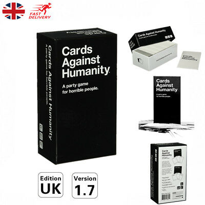 Cards Against Humanity Board Playing Card Game UK Edition Family Birthday Party
