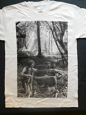 """PINK FLOYD /""""1974 Newcastle Odeon concert ticket/"""" screen printed T SHIRT"""