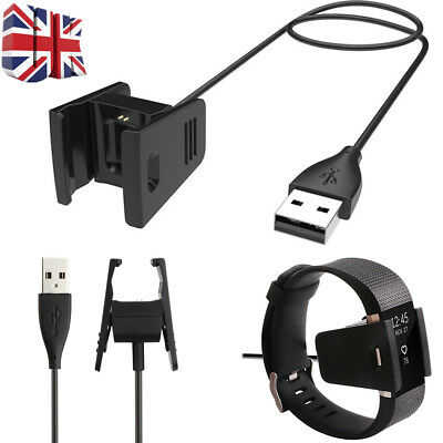 USB Charging Power Cable Charger for Fitbit CHARGE 2 Fitness Tracker Wristband