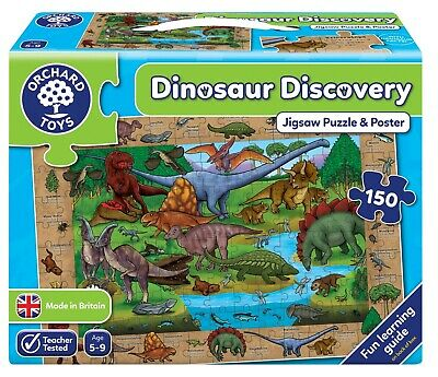 Orchard Toys Dinosaur Discovery Puzzle for Children – NEW