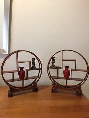 Chinese display stand set - 40 years old stored and are inan excellent condition