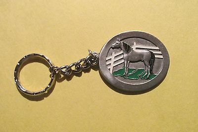 Pewter Horse Key Chain