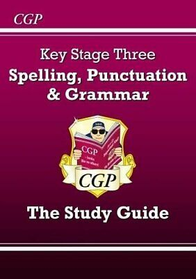 Spelling Punctuation and Grammar for KS3 - Study by CGP Books New Paperback Book