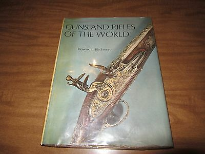 Vintage Howard Blackmore 1965 Guns & Rifles of the World Reference Book History
