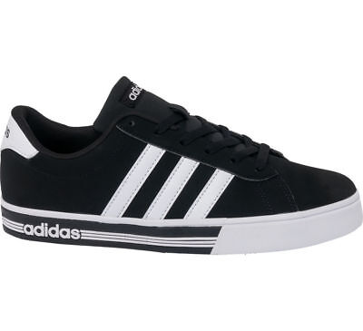 ... free shipping deichmann adidas neo label men adidas daily team mens  trainers black and white 38c96 c70e9530b01