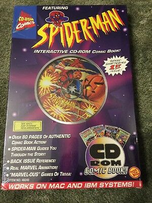 1995 Spider-Man Interactive CD-ROM Comic Book
