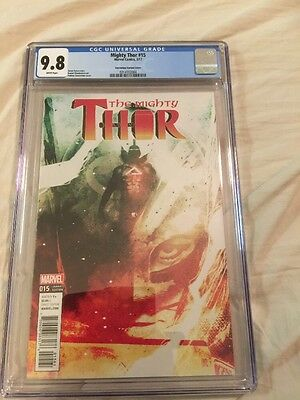 Rare The Mighty Thor 15 Andrea Sorrentino Variant Cover CGC 9.8 Wow!!!