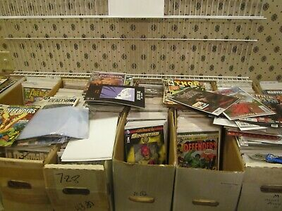 Huge Lot of 50 Mixed Marvel -DC -Ind Comics Most are VF/NM Small run