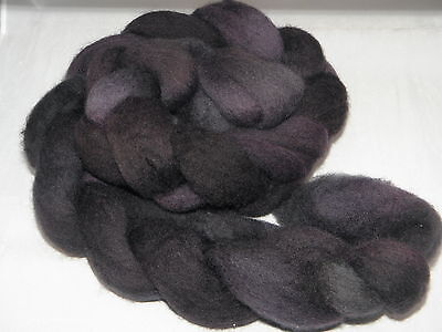 Hand Dyed Roving   Espresso Bean 100g