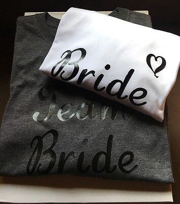 Bachelorette Party - Wedding Party - T-Shirt Vinyl Decals - Bride -Maid of Honor