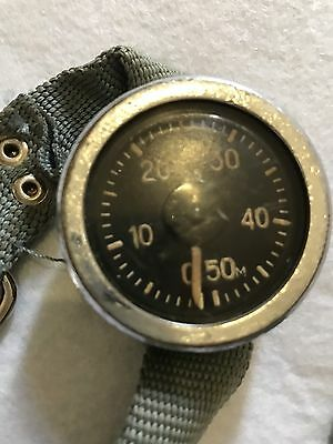 Soviet Russian Vintage Divers Depth Gauge
