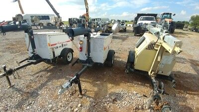 2012 Magnum 6KW 6 KW Light Towers 5000-9000 Hours