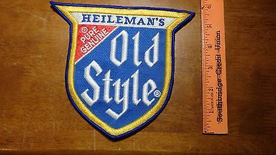 Vintage Heileman,s Old Style Beer Extra Large   Patch  Bx U#1