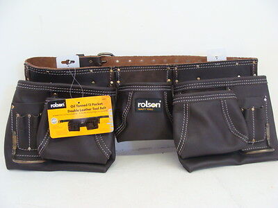 Brand New 13 Pocket Double Leather Tool Belt