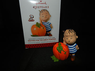Hallmark Peanuts All Year Long Ornament 2013 Waiting For the Great Pumpkin