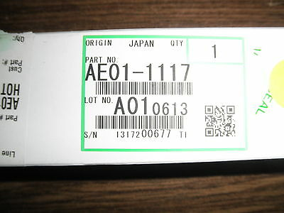Genuine Ricoh Hot Roller AE01-1117 AE011117 AE01-1095 AE011095 MP 6000 6001 6002