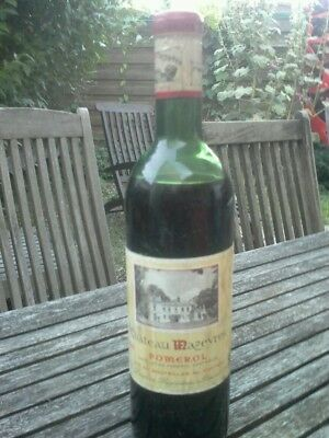 Vin Ancien Chateau Mazeyres Pomerol 1961 Grand Cru Old Wine Vintage Millesime