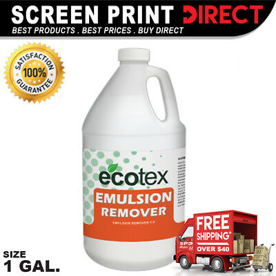 Ecotex EMULSION REMOVER - Industrial Screen Printing Emulsion Remover - 1 Gallon