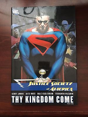 JUSTICE SOCIETY OF AMERICA-THY KINGDOM COME Part One HC Superman DC comics