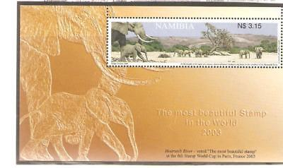 2003  Namibia - Stamp World Cup Winner - Sg Ms 953  Umm