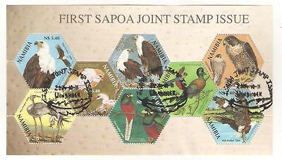 2004  Namibia -Joint Stamp Issue - Sg  Ms 982 Used