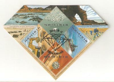 2008  Namibia - Diamond Discovery - Sg Ms 1099 Used