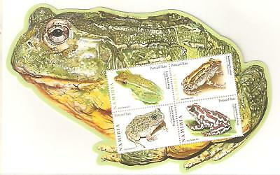 2011  Namibia - Frogs - Sg Ms 1166  Umm
