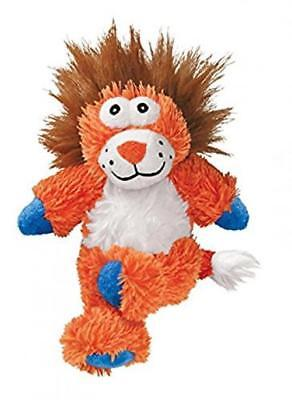 Soft Durable Cute Lion Dog Toy With Less Mess And Internal Rope Squeaker