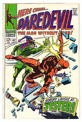Daredevil #42 VG- (3.5) Marvel Comic 1968 (2)