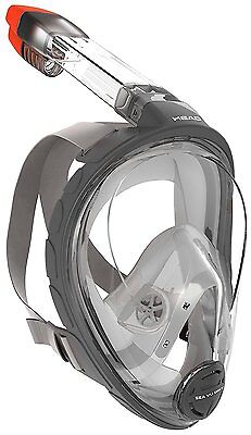 Mares Head Sea Vu Dry Full Face Snorkeling Mask Small/medium used,some scratches