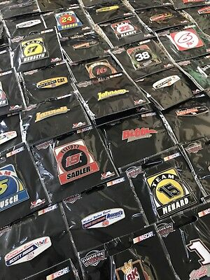 Lot of Nascar Pins and Collectibles!  Price reduced!