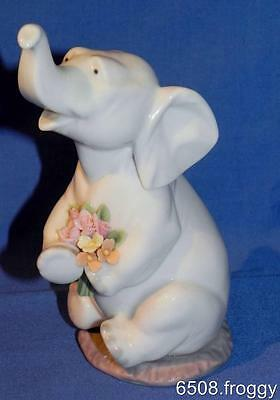 LLADRO *Lucky in Love* - ELEPHANT #6462 - First Quality - Mint Condition