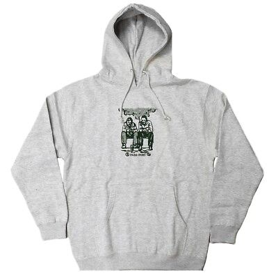 Pass~Port - No Way Out Mens Hoodie Heather Grey