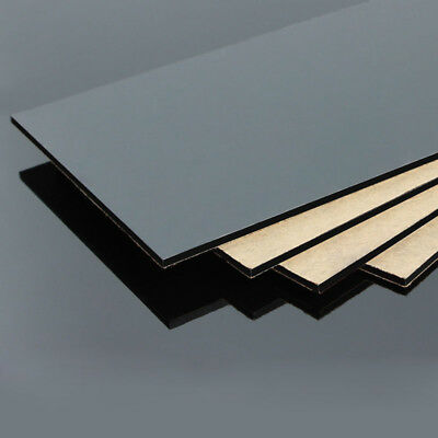 Black Acrylic Perspex Sheet Plastic Panel 1.2mm 2mm 3mm 4mm 5mm Thick Multi Size