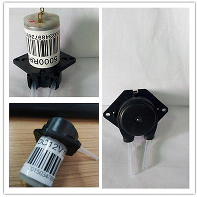 Peristaltic dosing Head without Connector Current 80mA 12V DC DIY Dosing Pump