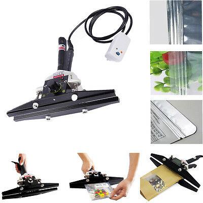 300MM Manual Handheld Bag Film Heat Sealing Machine Portable Shrink Sealer 400W