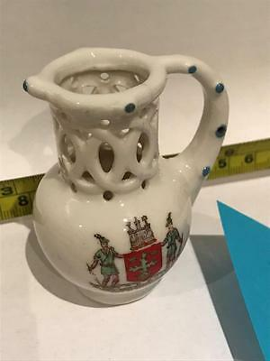 No #0009 Vintage Collectable Miniature Jugs Model Old English Puzzle Jug Used