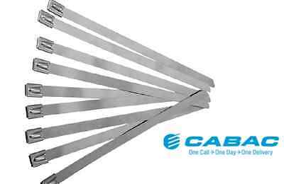 CABAC Stainless Steel Ties 200mm - 1000mm Various Sizes