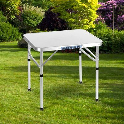 2FT Portable Camping Picnic Folding Table Computer Aluminum Dining Desk EK